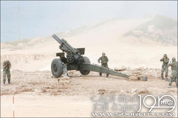 2009 - Exercice conjoint FINUL Française - 65e Bataillon d'Artillerie au Liban-Sud