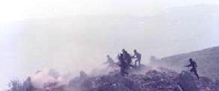 13 août 1989 - Offensive druzo-palestino-syrienne contre la 8e Brigade sur le front de Souk el-Gharb
