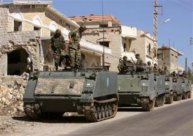 5 septembre 2006 - 11e Brigade se déploie à Bint-Jbeil