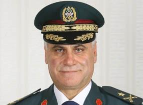 29 août 2008 - Général Jean Kahwagi commandant de la 2e Brigade de l'armée libanaise