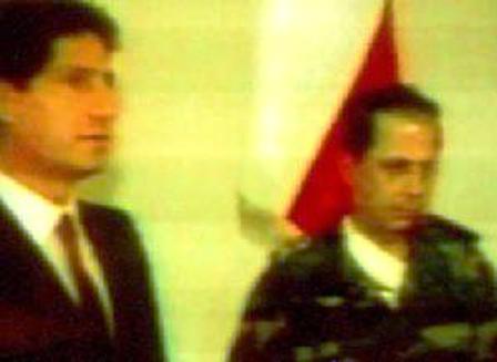 22 septembre 1988 - Le président Amine Gemayel désigne le général Michel Aoun Premier ministre d'un gouvernement militaire